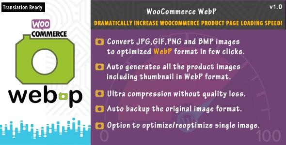 WooCommerce WebP - CodeCanyon Item for Sale