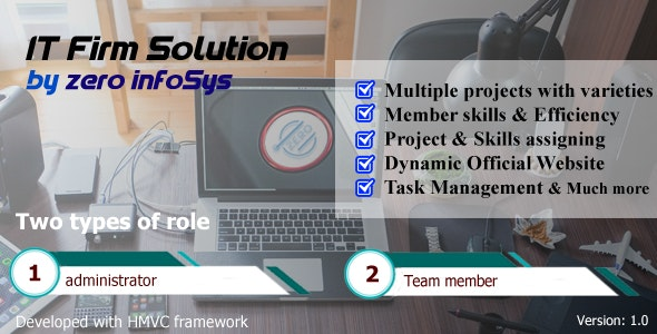 IT Firm Solution - CodeCanyon Item for Sale