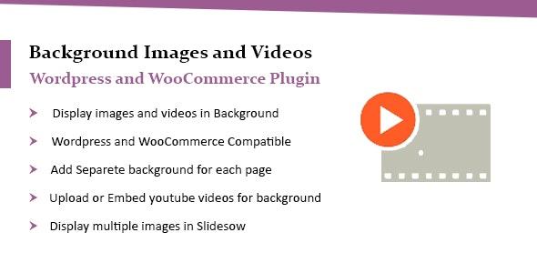 WooCommerce & WordPress Background Image & Video Plugin - CodeCanyon Item for Sale