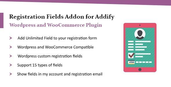 WordPress Custom Registration Fields Plugin