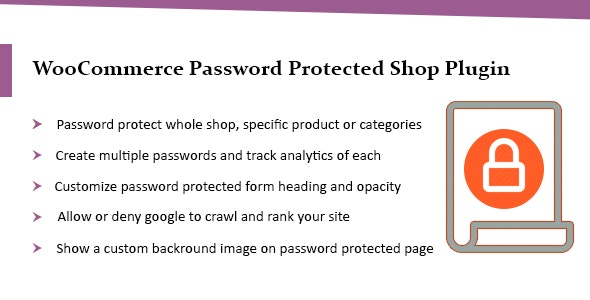 WooCommerce Password Protected Categories & Shop Plugin - CodeCanyon Item for Sale