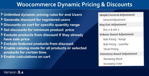 Woocommerce Dynamic Pricing & Discounts - Time Based