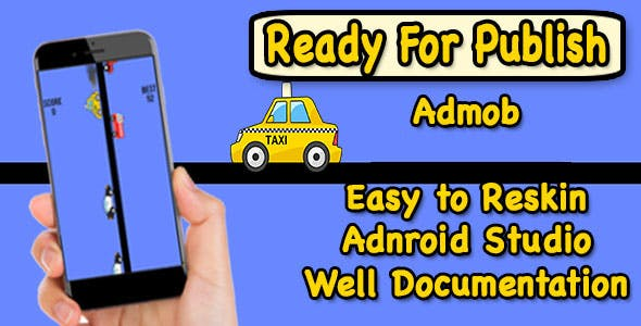 Mad Taxi Drive - Game For Kids - Endless Game - Android