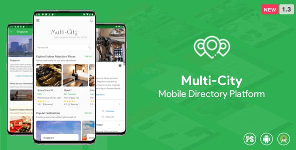Multi-City ( Directory Android App with Unlimited Cities ) 1.3