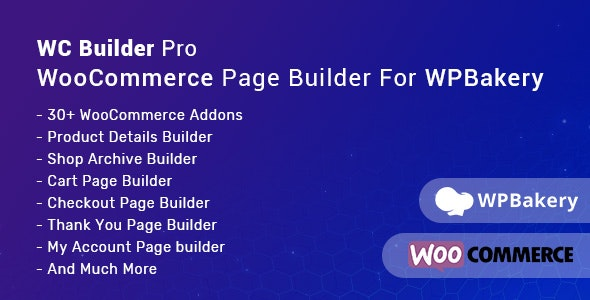 WC Builder Pro – WooCommerce Page Builder for WPBakery - CodeCanyon Item for Sale