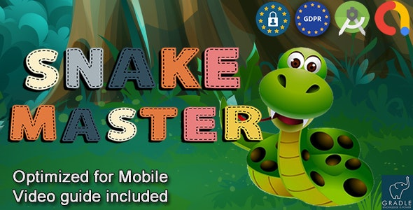 Snake Master (Admob + GDPR + Android Studio) - CodeCanyon Item for Sale