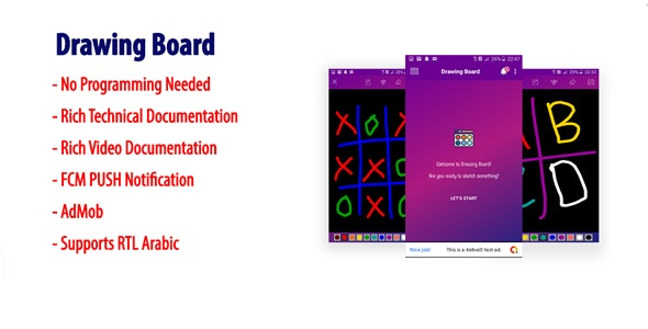 Drawing Board | Magic Slate for Kids | Android Paint App - CodeCanyon Item for Sale