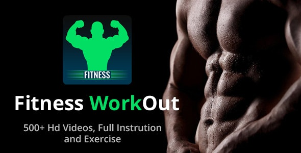 Body Fitness Workout Training: Gym at Home - Native Android