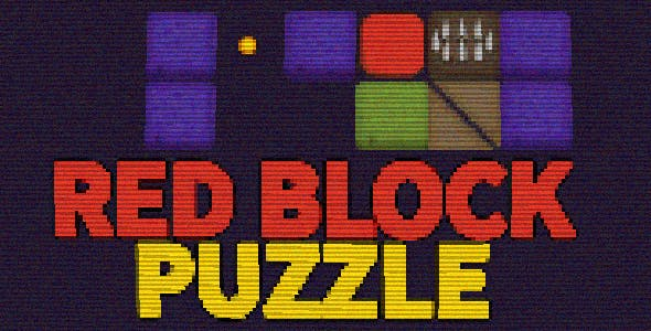 Red Block Puzzle - HTML5 Mobile Game (Construct 3 | Construct 2 | Capx)