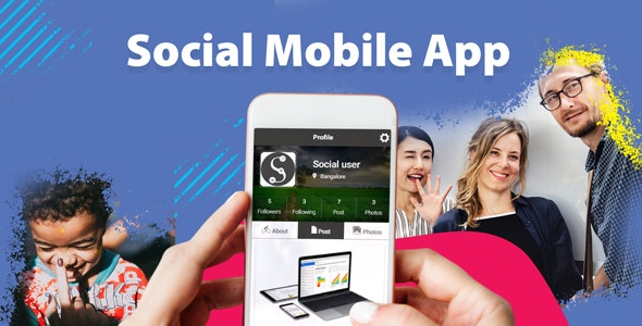 Social App With FireStore Backend - CodeCanyon Item for Sale
