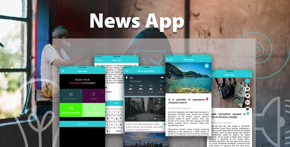 ionic 3 News app with Firebase - CodeCanyon Item for Sale