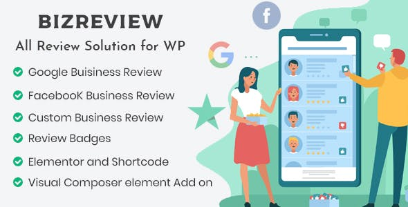 BIZREVIEW - Business Review WordPress Plugin