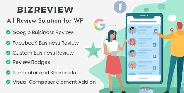 BIZREVIEW - Business Review WordPress Plugin - CodeCanyon Item for Sale