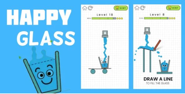 Happy Glass - Complete Unity Project with Admob