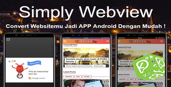 webview Free Download | Envato Nulled Script | Themeforest