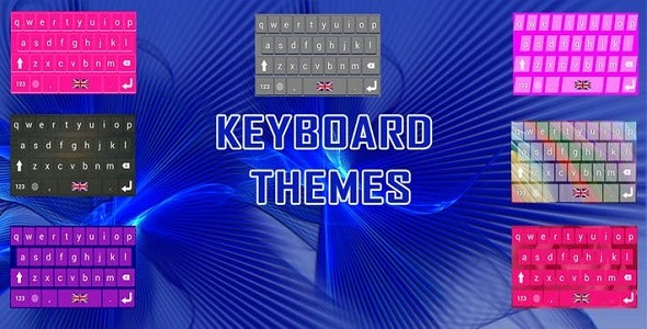Simple Keyboard Themes- ADMOB + GDPR by CodeRims | CodeCanyon