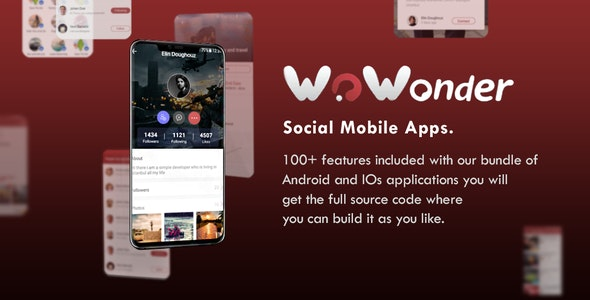 Mobile Native Social Timeline Applications - For WoWonder Social PHP Script - CodeCanyon Item for Sale