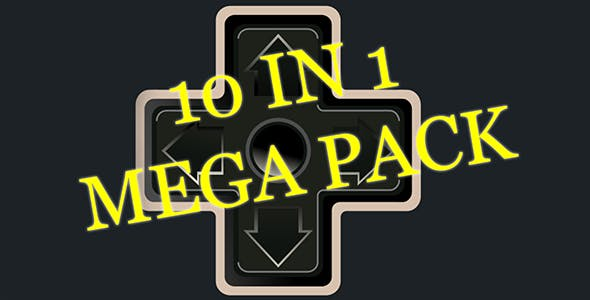 Unity3D - 10 in 1 mega pack - 10 complete games ready for release