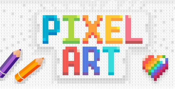 Pixelz - Color by Number Pixel Art 3D + 2D + Full Monetization features (Android + IOS) - CodeCanyon Item for Sale