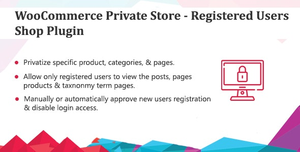 WooCommerce Private Store - Registered Users Shop Plugin - CodeCanyon Item for Sale