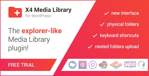 X4 Media Library for WordPress