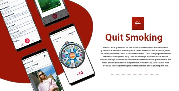 Quit Smoking - Android Source Code by Initiotechmedia