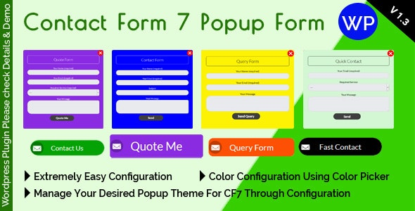 Contact Form 7 Popup Form by mgscoder | CodeCanyon