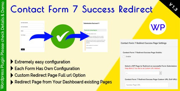 Contact Form 7 Success Redirect