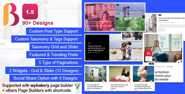 News & Blog Designer Pack Pro - News and Blog Plugin for WordPress - CodeCanyon Item for Sale