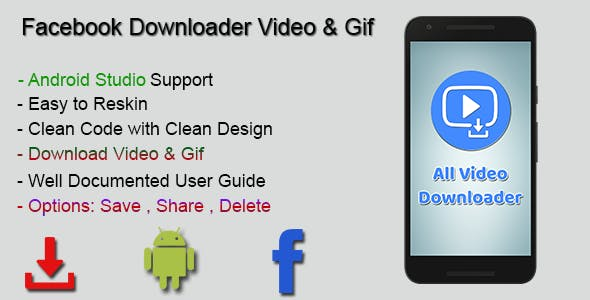 Make A All Video Downloader App With Mobile App Templates