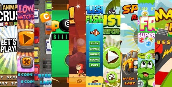 10 BEST HTML5 GAMES!  (Construct 3   Construct 2   Capx)