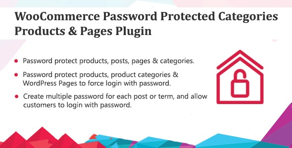 WooCommerce Password Protected Categories, Products & Pages Plugin - CodeCanyon Item for Sale
