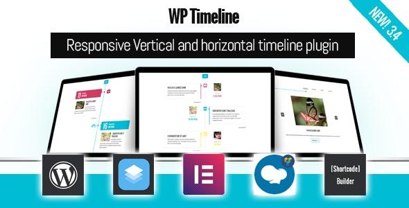 WP Timeline – Responsive Vertical and Horizontal timeline