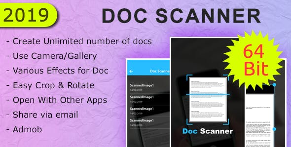 Doc Scanner Android App