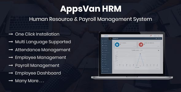 AppsVan HRM - Human Resource & Payroll Management System