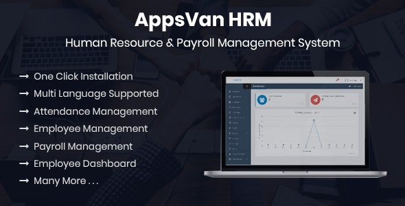 AppsVan HRM - Human Resource & Payroll Management System - CodeCanyon Item for Sale
