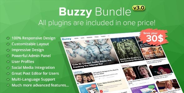 Buzzy Bundle - Viral Media Script - CodeCanyon Item for Sale