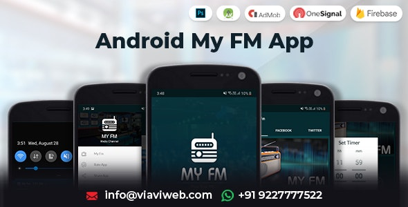 Android My FM App - CodeCanyon Item for Sale
