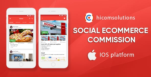 Social eCommerce Marketplace With Commission Model - iOS