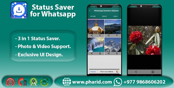 Status Saver for Whatsapp - Viral App | WA GB | WA | WA