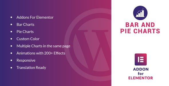 Bar and Pie Charts for Elementor WordPress Plugin