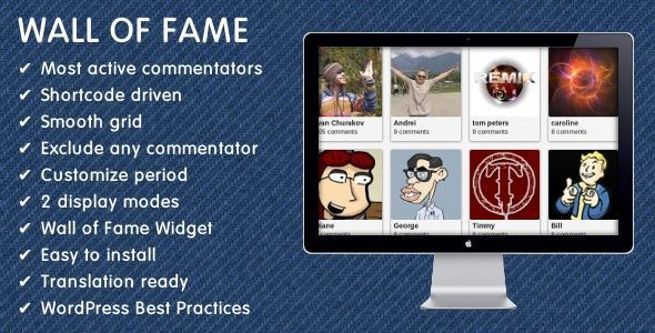 Wall of Fame - CodeCanyon Item for Sale