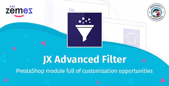 JX Advanced Filter PrestaShop module