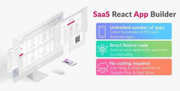 React App Builder - SaaS - Unlimited number of apps