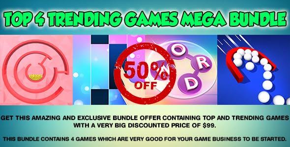 Amazing and Exclusive Bundle - Top 4 Trending Games