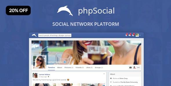 phpSocial - Social Network Platform