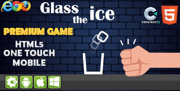 Glass the Ice - HTML5 Game (CAPX)