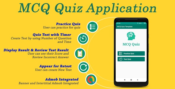 MCQ Quiz Application by vminfoway | CodeCanyon