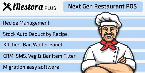 iRestora PLUS v3.4 – Next Gen Restaurant POS