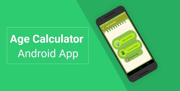 Age Calculator Android App - CodeCanyon Item for Sale
